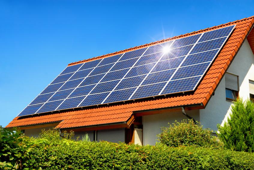 Gemiddelde installatie zonnepanelen