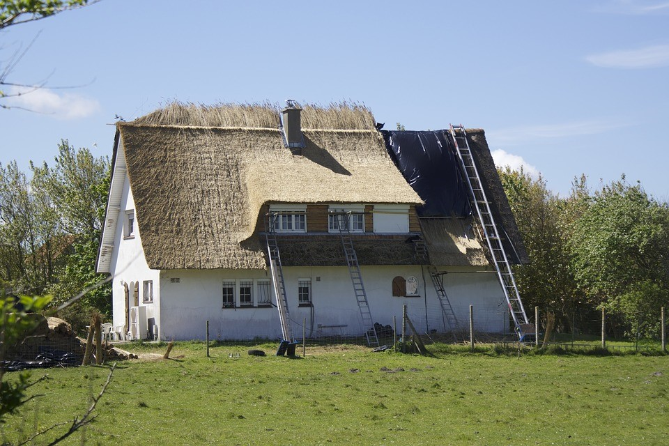 Rieten dak verbouw prijzen