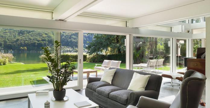 Prijs veranda: profielen en beglazing